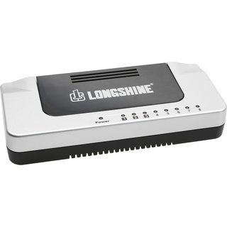 Longshine 8-Port Switch, 10/100 mit QoS & Loop Erkennung, LCS-FS6108-C