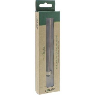 InLine® woodstylus Touchpad Stylus walnut / metal